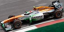 Sutil al Gran Premio della Malesia 2013
