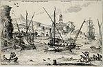 Adrian van der Cabel - Landschap met zeilschepen.jpg