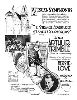 <i>The Strange Adventures of Prince Courageous</i> 1923 film