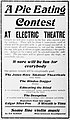 Advertisement for films and other events at cinema in Arkansas, 1909.jpg