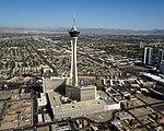 Aerial view Casino Stratosphere LAS 09 2017 4913.jpg
