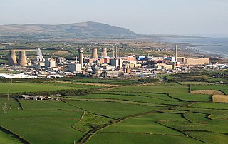 Sellafield nuclear reprocessing site in Cumbria, England