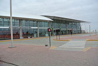 Pisco, Peru - Image: Aeropuerto Pisco 2015