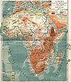 Afrika, Flod- och bergssystem, Nordisk familjebok.jpg
