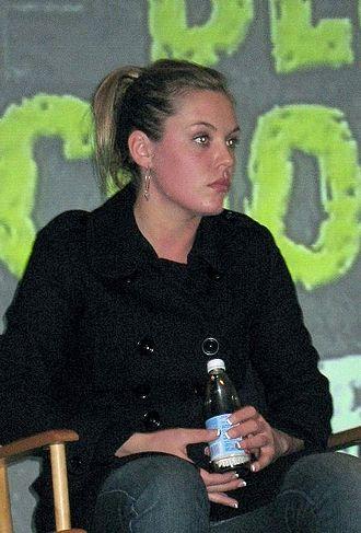 Agnes Bruckner - Bruckner promoting Blood and Chocolate in 2007