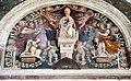 Agostino di duccio, altare della madonna del voto, 1459, 03, pitture di domenico bruschi (1839).jpg