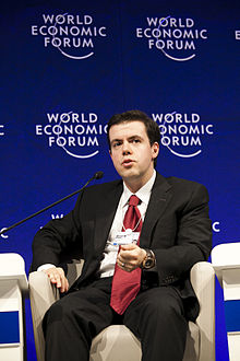 Ahmet M. Oren at the World Economic Forum on Europe 2011.jpg