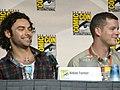 Aidan Turner & Russell Tovey (3772375875).jpg