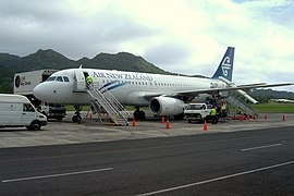 Air New Zealand Airbus A320.JPG