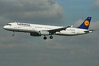 D-AISB - A321 - Lufthansa