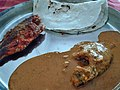 Akki rotti fish fry and fish curry homemade by Sujatha aunty karnataka.jpg 01.jpg