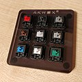 Akwox Cherry MX 9 switch sample board.jpg