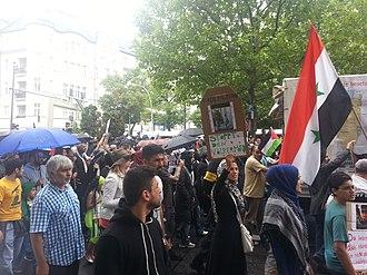 Quds Day - Image: Al Quds 2014 Berlin 20140725 162233