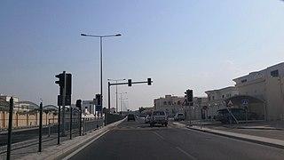 Bani Hajer (Al Rayyan) District in Al Rayyan, Qatar
