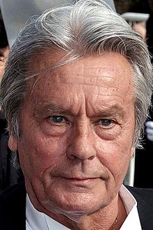 Alain Delon - the sexy, handsome, tough,  actor  with German, French, Italian,  roots in 2017