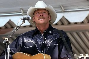 Alan Jackson - Jackson performing in 2002