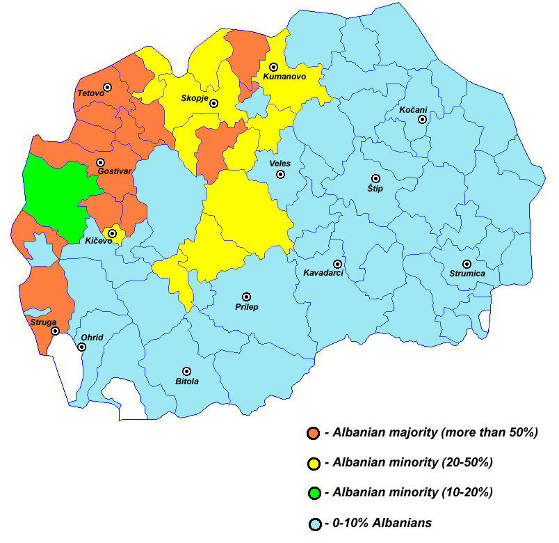Albanians in macedonia2002 03