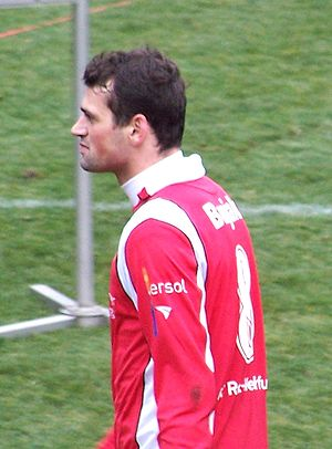 Albert Bunjaku - Bunjaku playing for Rot-Weiß Erfurt