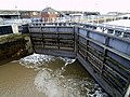 Albert Dock Lock Gates - geograph.org.uk - 542782.jpg