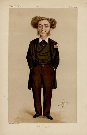 Albert Grant (company promoter) - Vanity Fair caricature of Grant by Ape
