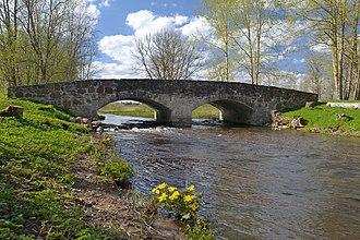 Järva County - Image: Albu mõisa sild 2012