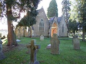 Aldershot Cemetery - Image: Aldershot Cemetery Chapels