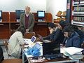 Alejandro Pelayo, director de la Cineteca Nacional, durante el Editatón 'Wikipedia ama el cine' 05.JPG