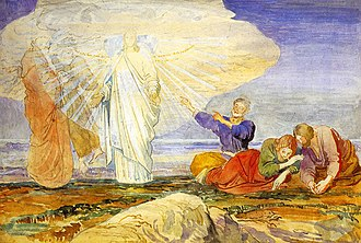 Race and appearance of Jesus - Transfiguration by Alexandr Ivanov, 1824