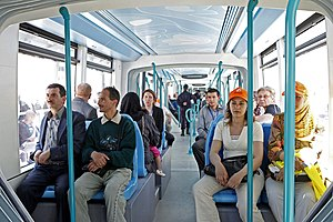 Algiers tramway - Image: Alger inaugure son nouveau réseau de tramway