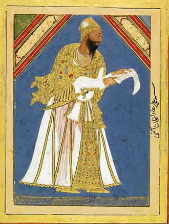 War of the League of the Indies - Ali Adil Shah, ruler of Bijapur between 1557-79