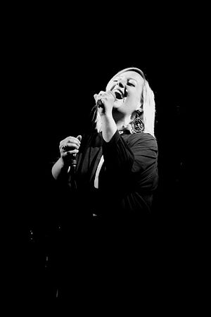 Alice Russell (singer) - Alice Russell performing live in 2012