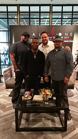 All-4-One - All-4-One in Bangkok.