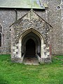 All Saints, Great Fransham, Norfolk - Porch - geograph.org.uk - 1700119.jpg