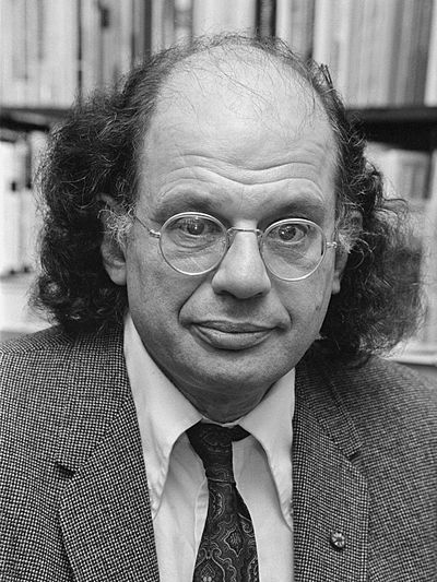 Picture of an author: Allen Ginsberg