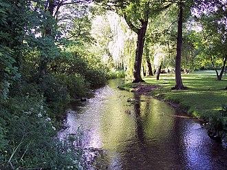 Damerham - River Allen at Damerham