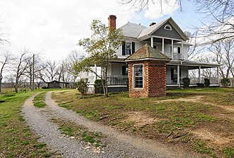 National Register of Historic Places listings in York County, South Carolina - Image: Allison Plantation