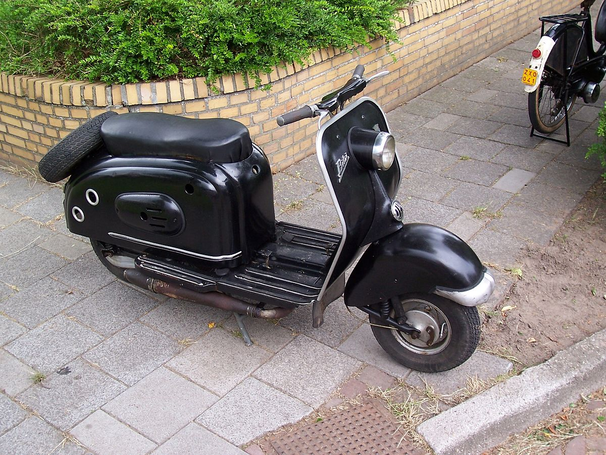 Small Engine Scooters : Scooter simple english wikipedia the free encyclopedia