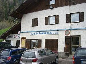 1998 Giro d'Italia - Image: Alpe di Pampeago