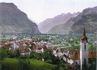 Altdorf, Uri - Altdorf, 1900.