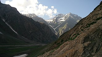 Amarnath Temple - View of Amarnath Valley