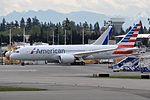 American Airlines, Boeing 787-8 Dreamliner, N805AN - PAE (18865522660).jpg