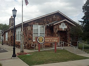National Register of Historic Places listings in Oklahoma County, Oklahoma - Image: American Legion Hut 2012 09 26 15 03 51