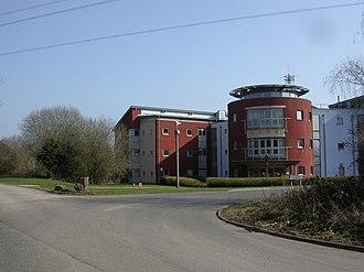 Ameysford - Image: Ameysford, police headquarters (geograph 2293303)