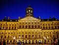 Amsterdam Paleis op de Dam bei Nacht 4.jpg