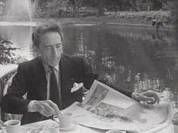 Jean Cocteau in Amsterdam voor het Holland Festival 1950, Polygoonjournaal