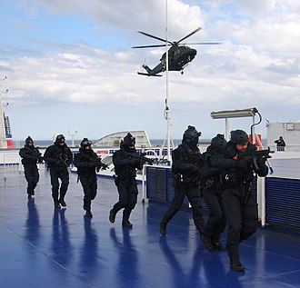 Army Ranger Wing - Rangers on a maritime counter terrorism exercise in 2011