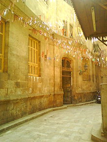 An alley in Muizz street..JPG