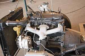 Ford Kent engine - A 1.6 litre Kent Crossflow (711M block) in an Anadol FW11 prototype