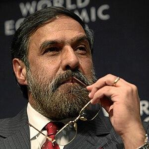 DAVOS/SWITZERLAND, 27JAN10 - Anand Sharma, Min...