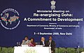"Anand Sharma addressing at the inauguration of the Opening Session of the Ministerial Meeting on Re-energising Doha A Commitment to Development"", in New Delhi on September 03, 2009.jpg"